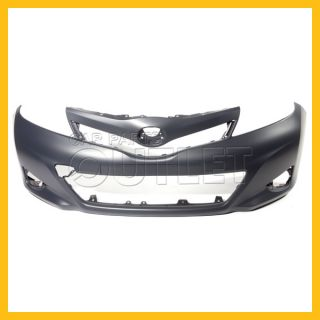 2012 2013 Toyota Yaris Front Bumper Cover New TO1000381 Primered Plastic L Le HB
