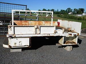 Ford Chevy Dodge Steel Truck Flat Bed Welder's Rig
