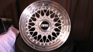 BMW BBs Three Piece Wheels 4 Bolt Pattern