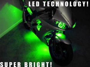 Green 36 LED Motorcycle Lights Kit CBR600RR 600RR CBR F4i