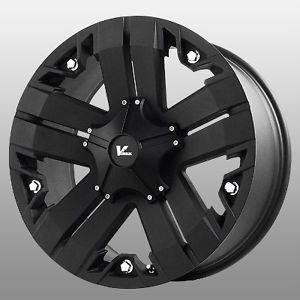 18 inch V Rock Recon Black Wheels Rims 5x150 Tundra Sequoia LX470
