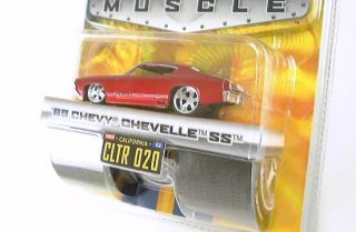 1969 69 Chevy Chevelle SS Bigtime Muscle Dub City Jada Toys Red CLTR 020