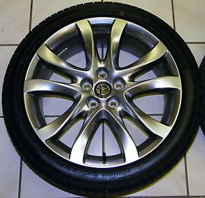 "2014 Mazda 6 19"" Factory Wheels Tires Rims with Dunlop SP Sport 5000 Tires"