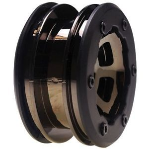 "Losi LOSB1471 Black Chrome Wheels 2 1 9"" 1 18 Mini Rock Crawler New"