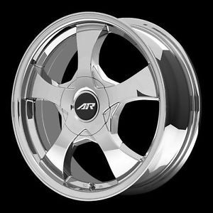 "American Racing AR89546031835 AR895 Wheel 14"" x 6"" Chrome 5x100 4 5"