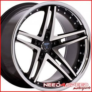 "19"" Volkswagen CC Rohana RC5 Machined Concave Wheels Rims"