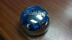 "Akuza Chrome Wheel Center Cap Discontinued Hub Cap 4"" Outer 3 5"" Clip Diameter"