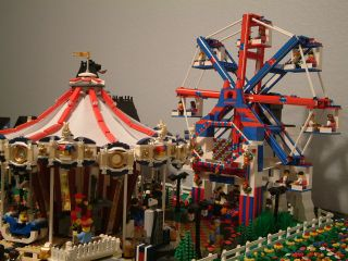 30 Instructions for Great Lego Sets Like Ferris Wheel for 10196 Carousel