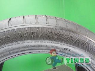 2 Goodyear Eagle LS2 RFT 245 50 18 Used Tires 91 Life BMW x3 24550R18 2455018