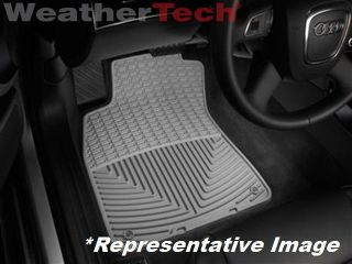 Weathertech® All Weather Floor Mats Toyota Tacoma Double Cab 2012 2013 Grey