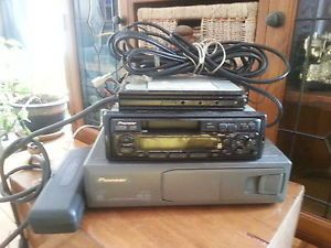 Pioneer Car Radio Tape Player with Pioneer CD Changer and Pioneer Amp