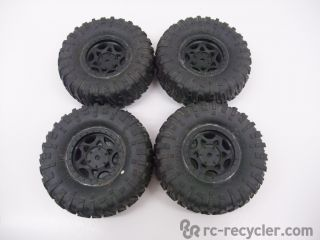 Axial SCX10 Rock Crawler 1 9 RIPSAW Soft Compound Tires Wheels AX12016 Scale