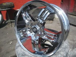 "20"" Lorenzo WL026 Chrome Wheel Tire Combo asanti MHT Lexani BMW 3 Series 5x120"