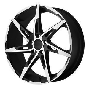 20 inch American Racing AR900 Black Wheels Rims 5x115 Charger 300C Magnum AWD