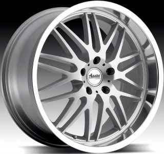 18x9 5 Advanti Racing Kudos 5x120 32 Silver Rim Wheels Fit BMW Z3 Z4 323 325