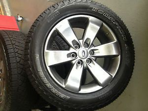 20 inch FX Cast Aluminum Wheels and Pirelli Scorpion Tires F150 FX4 Take Offs