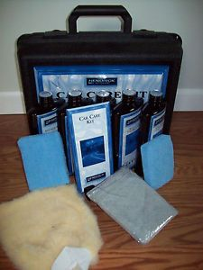 Hendrick Motors Autoguard Car Care Kit Complete New Wash Leather Tire Renewer