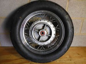 2005 Vulcan 500 Rear Wheel Rim Bridgestone Tire EN500 Kawasaki