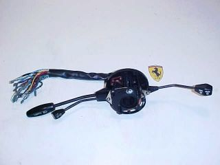 Ferrari Vitaloni Wiper Light Turn Signal Switch Assembly 365 Boxer