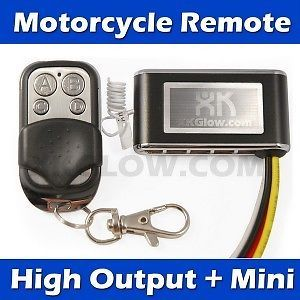 New LED Neon Motorcycle Lights Kit Remote Controller