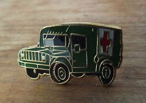 Mash 4077 Ambulance Jeep Korean War Tie Hat Cap Pin Badge Korea Army Truck