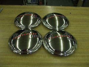 1939 Chevy Car Truck Set of Four New Hub Caps L K