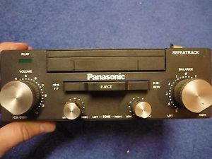 Vintage Panasonic Car Cassette Player Stereo CX 5100