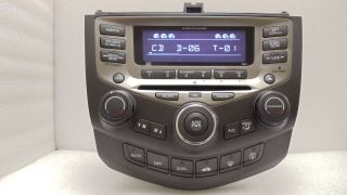 05 06 07 Honda Accord Radio Stereo 6 Disc Changer CD Player 7BO1 Hybrid EXL