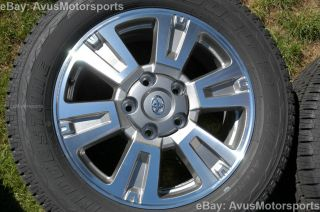"New 2014 Toyota Tundra Platinum 20"" Wheels Tires Sequoia Land Cruiser LX 470"