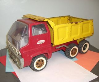 Vintage Large Tonka 13200 Cabover Dump Truck Whitewall Tire Variety