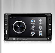 "Xtrons TD605G Double 2 DIN Car GPS Nav DVD Player 6 2"" Screen Radio RDS Stereo"