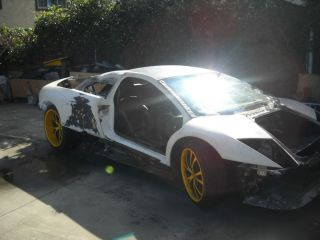 Lamborghini Murcielago Coupe 04 Rolling Chassis Salvaged Project Track Car