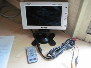 7in LCD Monitor 12VDC Powered Car Camping Truckers
