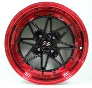 15 Rota SA Racing Wheels Tires 4x100 Red Honda Acura
