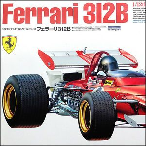 1 12 Tamiya 12048 Ferrari 312B w Photo Etched Parts 1970 F1 Race Car Kit