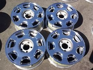 Cadillac DeVille STS DTS 16inch Chrome Wheels Rims 2000 0102 03 04 2005