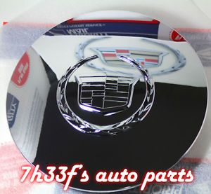 2002 2006 Cadillac Escalade Chrome Wheel Center Hub Cap 9594877 Ext ESV