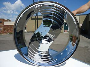 "24"" Greed Deuce Chrome Wheels Rims Chrysler 300C Charger Magnum New Blades"