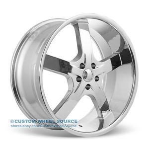 "20"" U2 55 Chrome Rims Chrysler Dodge Ford Honda Kia U2 55 Wheels"