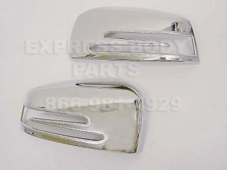 10 12 W216 CL550 CL63 Mirror Chrome Cover Cap Coupe New