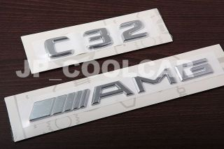 Mercedes Benz Nameplates C32 AMG Model Badges W203 00 07 C230 C280 C320