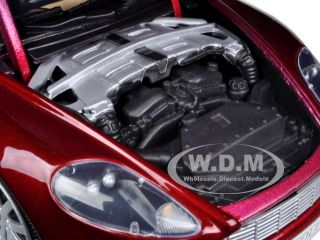 Aston Martin DB9 Coupe Burgundy 1 18 Diecast Model Car by Motormax 73174