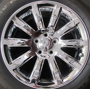 2011 2012 Chrysler 300 Factory Chrome Plastic Clad Alloy Wheel Rim 2418