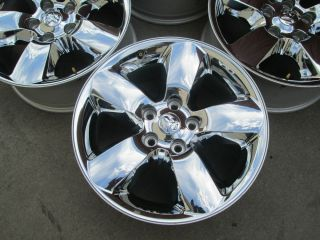 "20"" Dodge RAM 1500 Factory Chrome Clad Wheels Rims 2014"