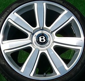 1 Best Genuine Bentley Continental GT 21 inch Wheel CGT Flying Spur Mulliner