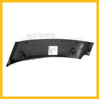 03 04 Toyota 4Runner SR5 Front Bumper Outer Cover Extension Textured Gray Left