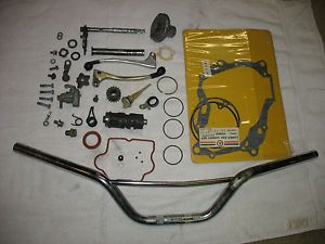 1974 Honda XR75 Engine Parts Handle Bars