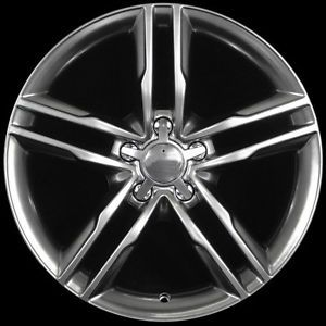 "18"" S5 Style Hyper Black Wheels Rims Fit Audi A4 B5 B6 B7 B8"