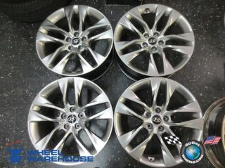 "Four 09 13 Hyundai Genesis Coupe Factory 19"" Wheels Rims 70841 70842"