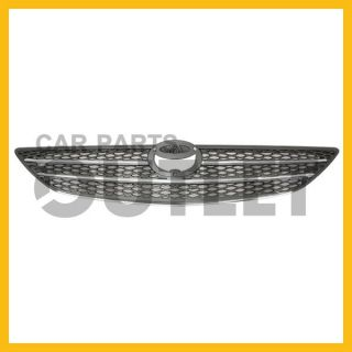 02 04 Toyota Camry Chrome Black Mesh Grille Grill Assembly New Le XLE